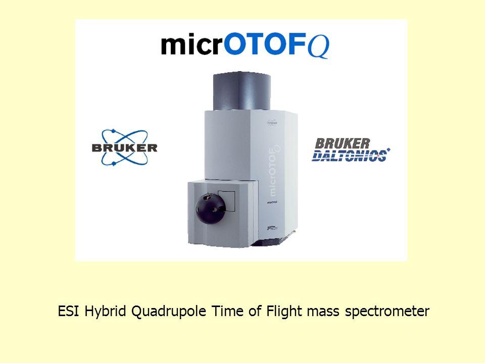 ESI Hybrid Quadrupole Time of Flight mass spectrometer