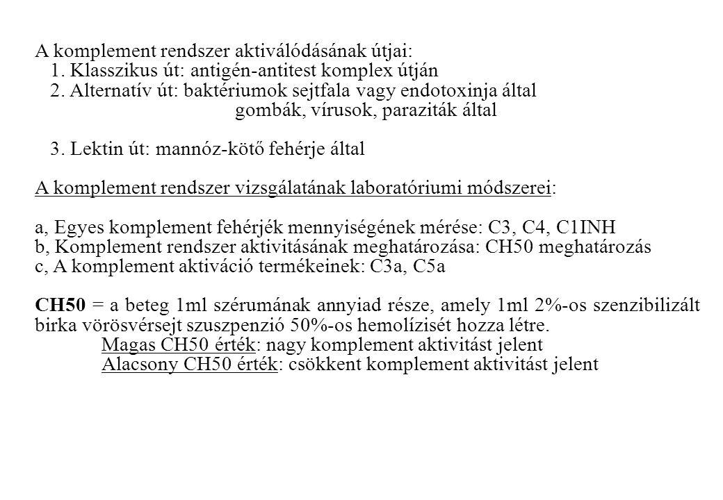Aktivált T-sejtek (kettős pozitív sejtek) meghatározása CD3+/HLADR+ sejtek