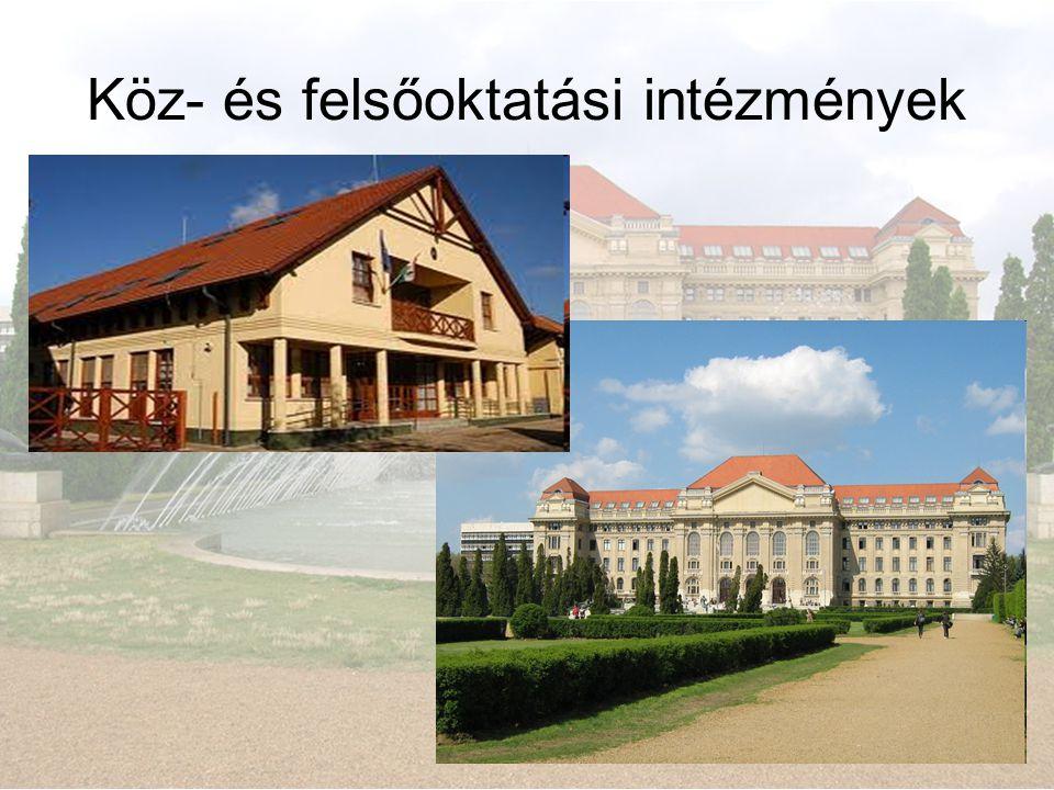 Köz- és felsőoktatási intézmények