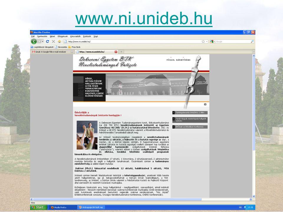 www.ni.unideb.hu