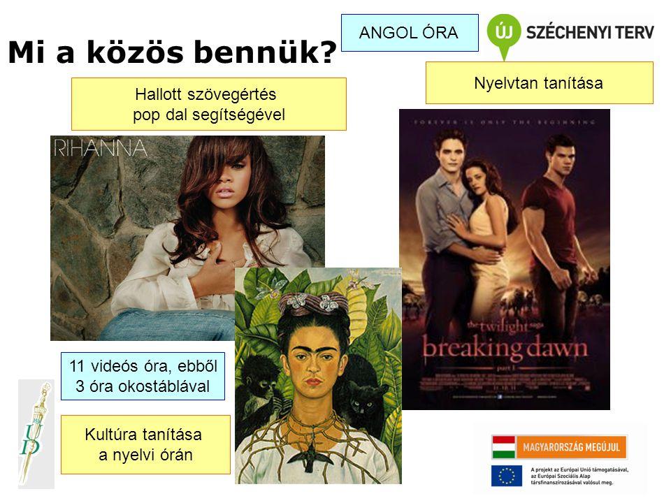 Vállalásaink újszerűsége: 1.Videóra rögzített valós angol nyelvi órák magyarországi közép- és általános iskolai kontextusban A tanárképzés során a hallgatók különböző megfigyelési szempontok alapján elemezhetik és értékelhetik a nyelvtanári kompetenciákat és módszertani fogásokat 2.Valós tanulói hibák gyűjteménye (több mint 30 gyakorló angoltanár gyűjteménye, videóra ill.