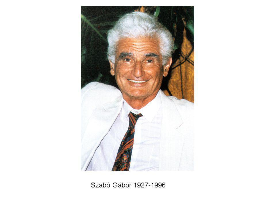 Szabó Gábor 1927-1996