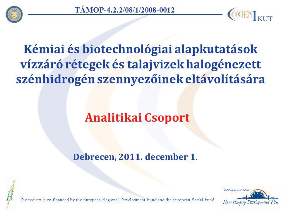 TÁMOP-4.2.2/08/1/2008-0012 Eredmények 2.