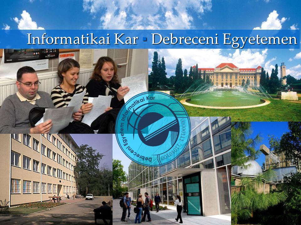 Informatikai Kar ▪ Debreceni Egyetemen