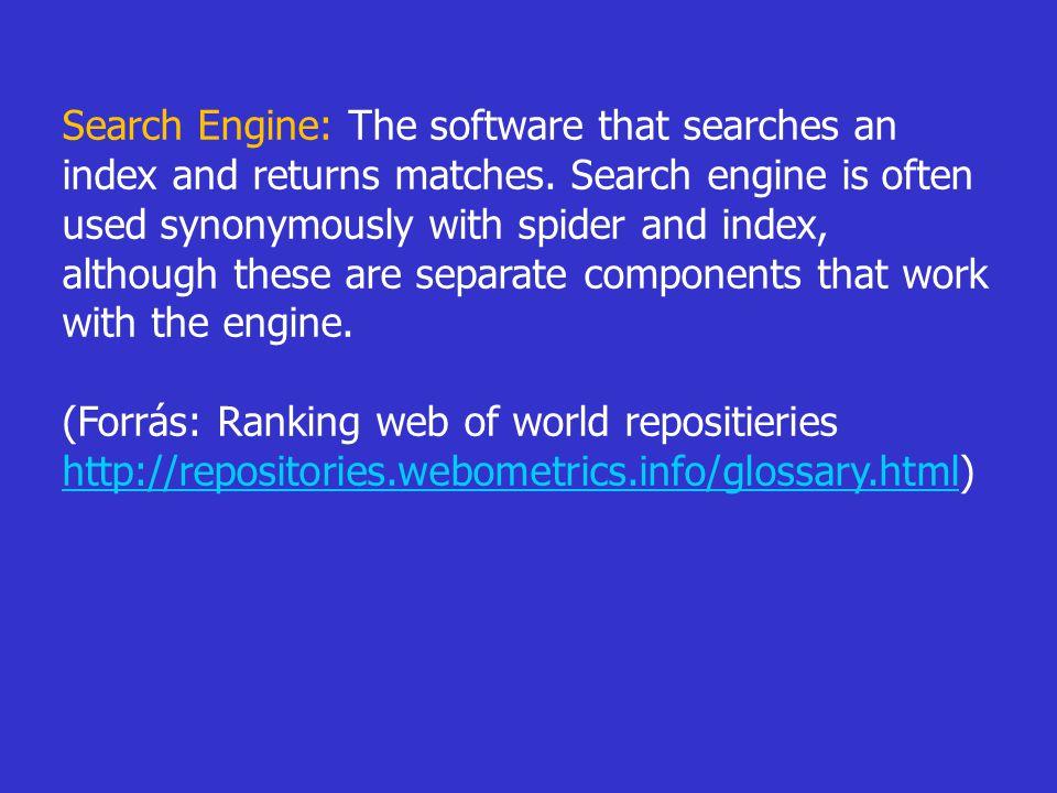  Találatmegjelenítés: összegyűjtjük, hogy a keresési találatokról a felhasználók milyen leírást kapnak, pl.