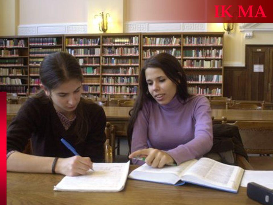 Informatikus könyvtáros MSc IK MA