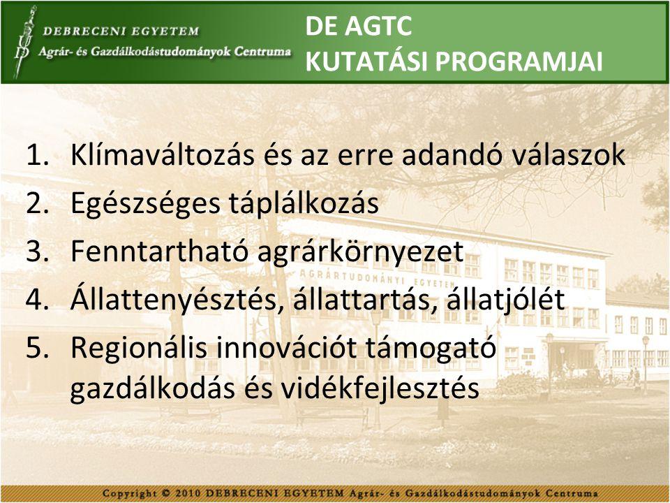 DE AGTC TÁMOGATÓI 2010-ben DuPont Magyarország Kft.