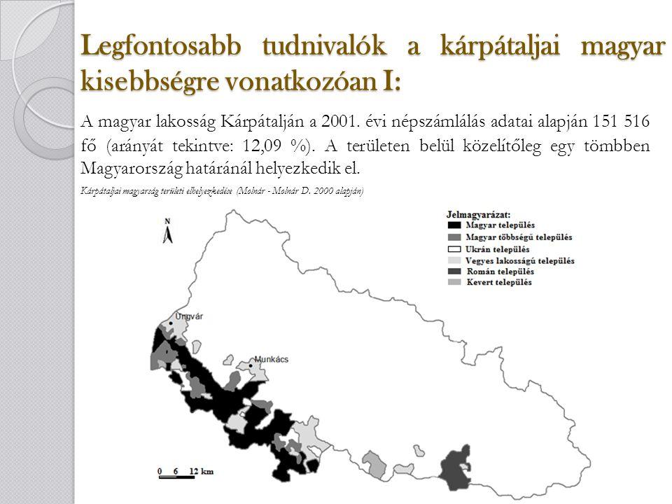 Összegzés: Ahhoz, hogy Kárpátalján huzamosabb ideig a magyarság megmaradjon, kiemelkedően fontos, hogy a magyar tannyelvű iskolahálózat fennmaradjon.