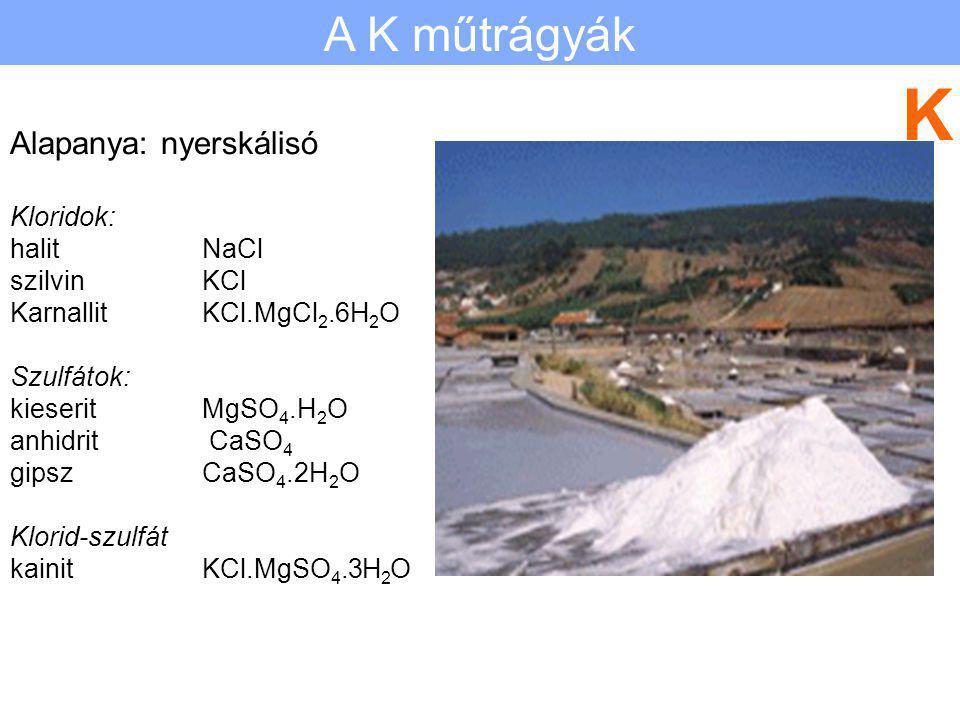 Szuperfoszfát Előállítás összetétel: hatóanyag: tulajdonságok Hármas szuperfoszfát Előállítás összetétel: hatóanyag: tulajdonságok P A foszforműtrágyá