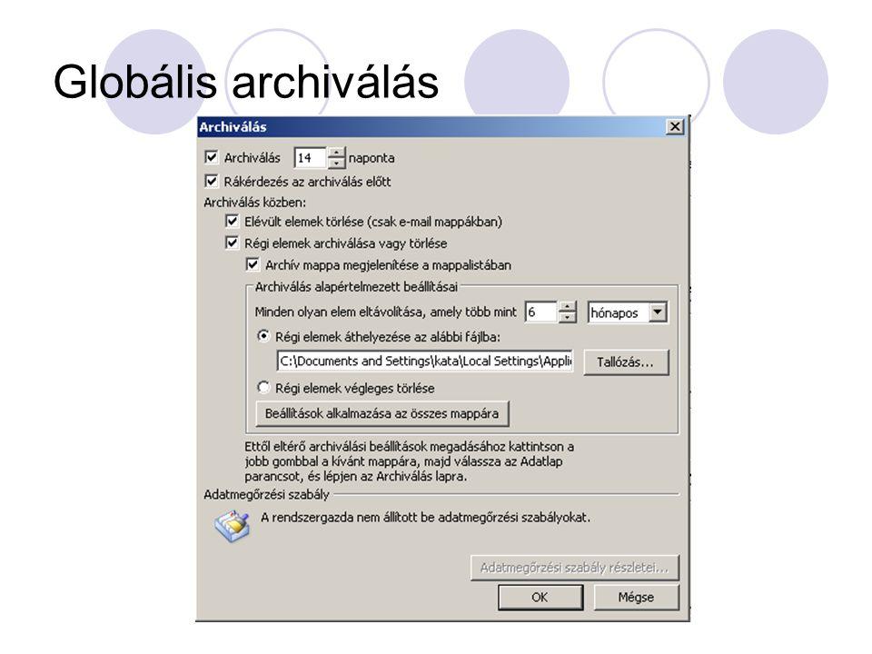Globális archiválás