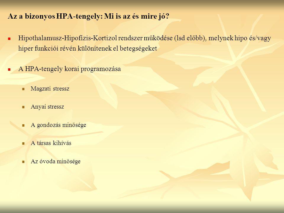 Az a bizonyos HPA-tengely: Mi is az és mire jó.