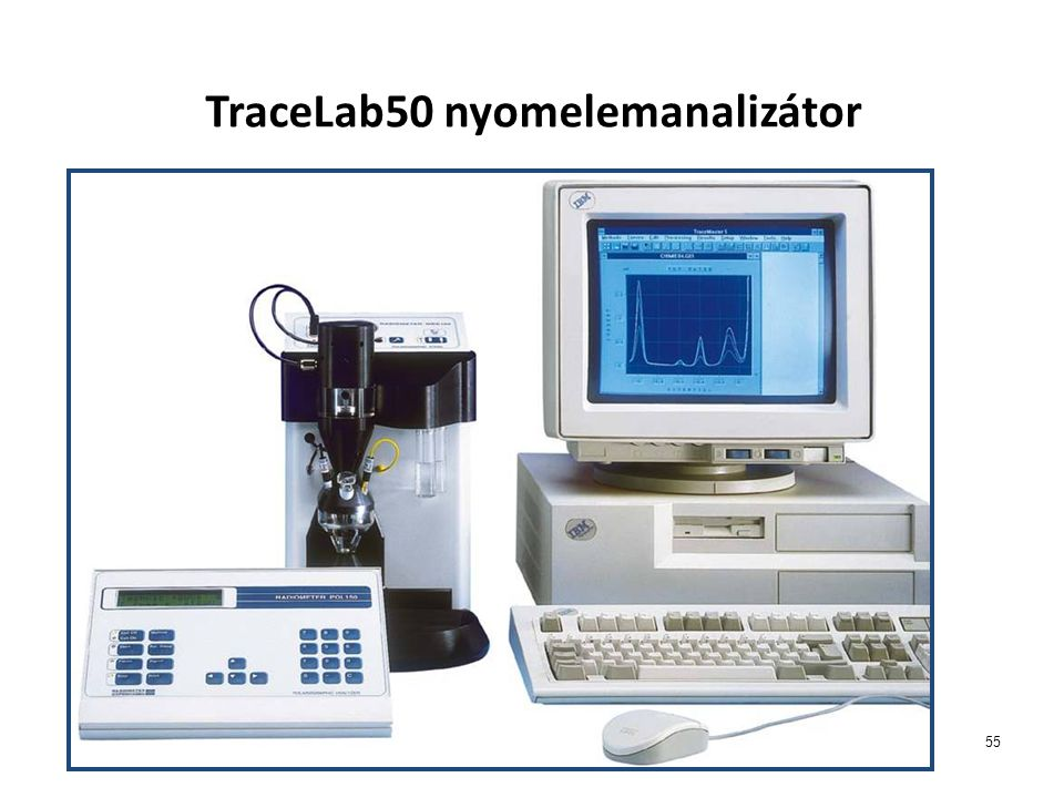 55 TraceLab50 nyomelemanalizátor