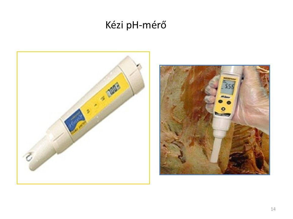 14 Kézi pH-mérő