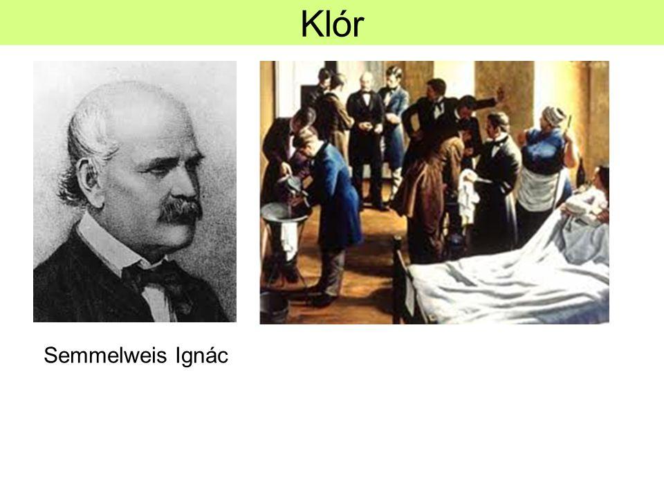 Klór Semmelweis Ignác