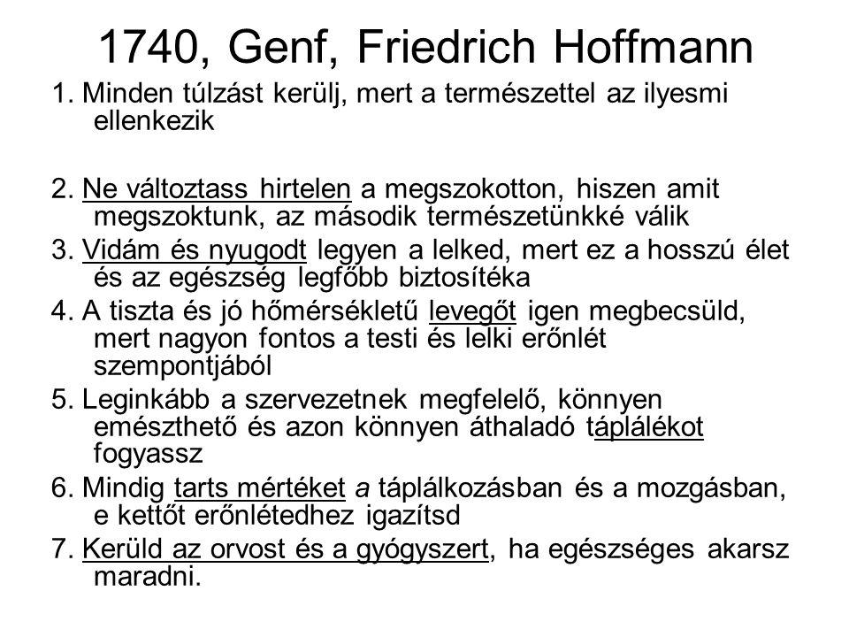 1740, Genf, Friedrich Hoffmann 1.
