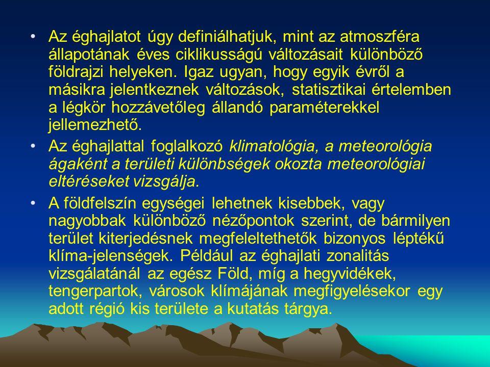 A meteorológiai jelenségek osztályozásánál, a mérethatárok megvonásánál a szakemberek közt nem volt egyetértés.
