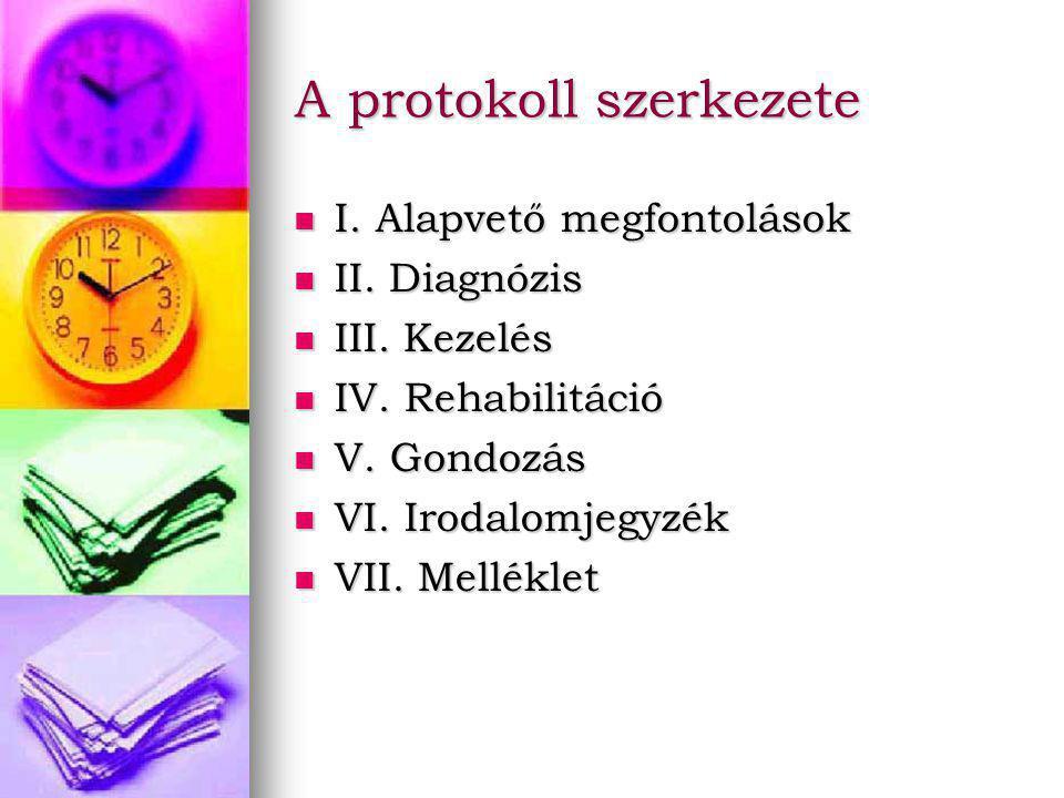 A protokoll szerkezete I. Alapvető megfontolások I.