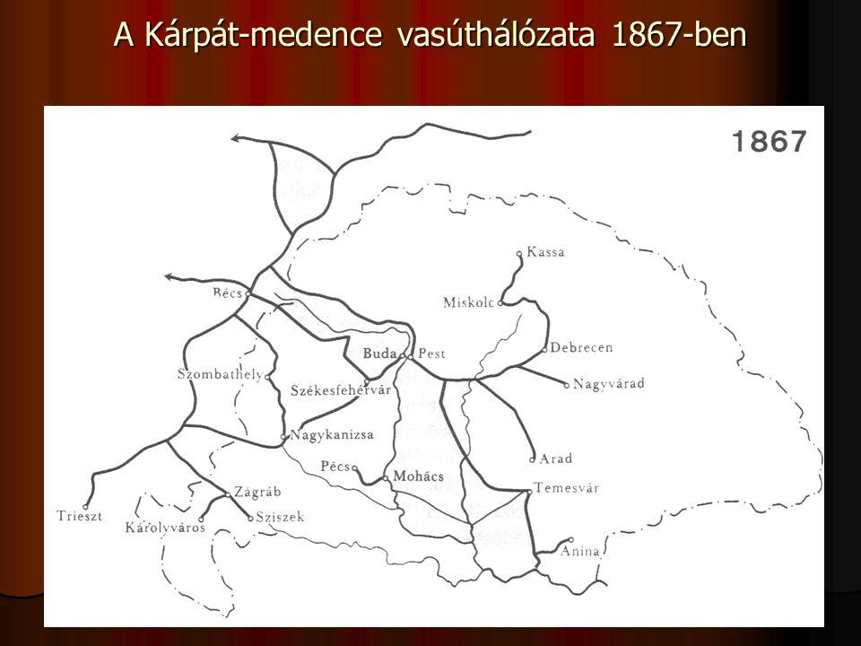 Az infrastruktúra fejlesztésében elmaradt régiók (pl.