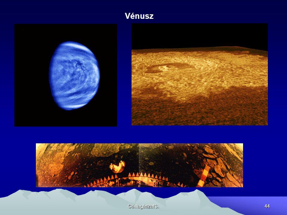 Csillagászat 3.44 Vénusz