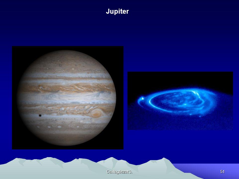 Csillagászat 3.51 Jupiter