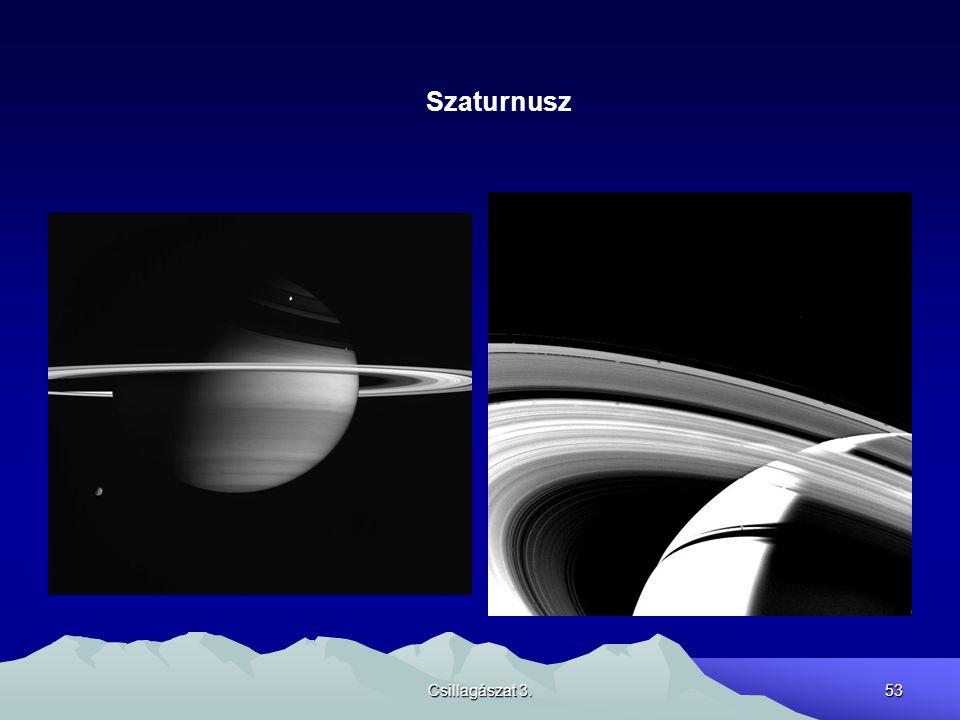 Csillagászat 3.53 Szaturnusz