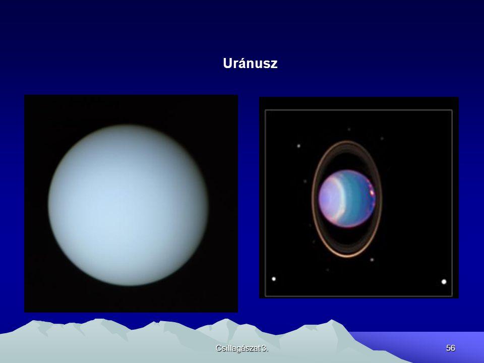 Csillagászat 3.56 Uránusz