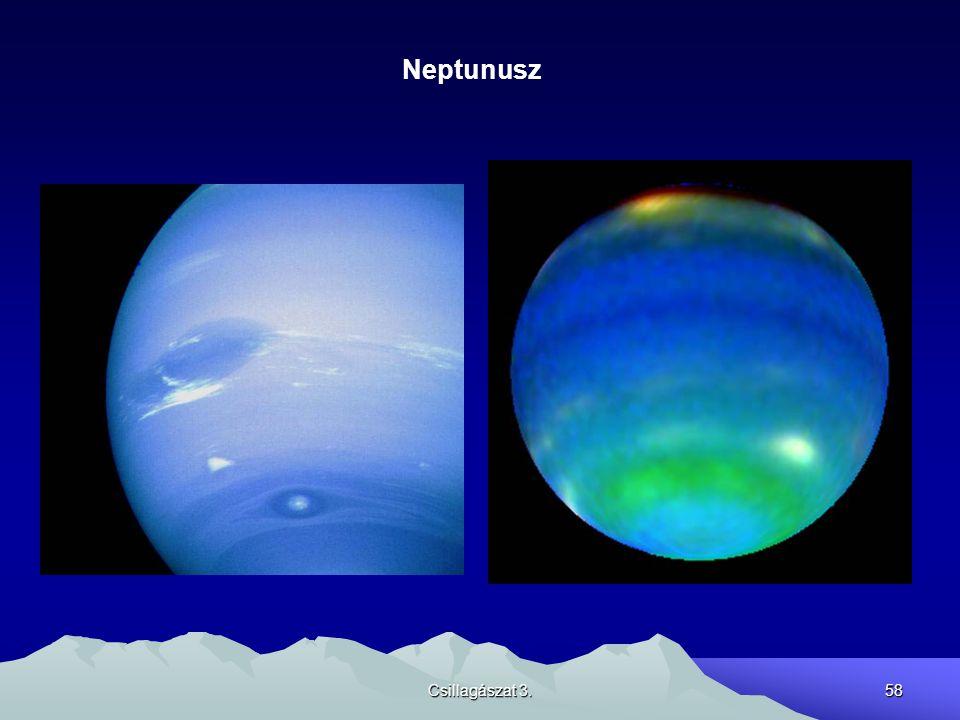 Csillagászat 3.58 Neptunusz
