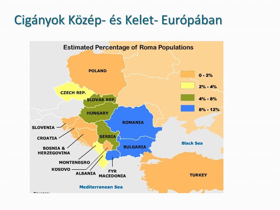 Cigányok Közép- és Kelet- Európában