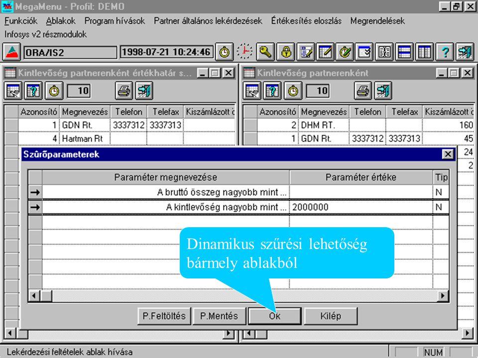 Ország törzs karbantartás Infosys táblák karbantartása Infosys menüpontok közvetlen hívása