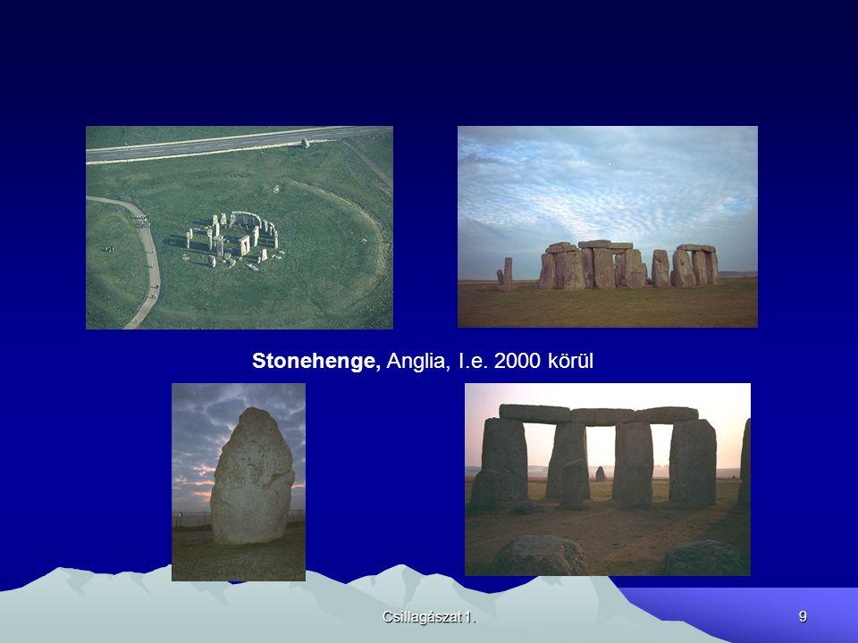 Csillagászat 1.9 Stonehenge, Anglia, I.e. 2000 körül