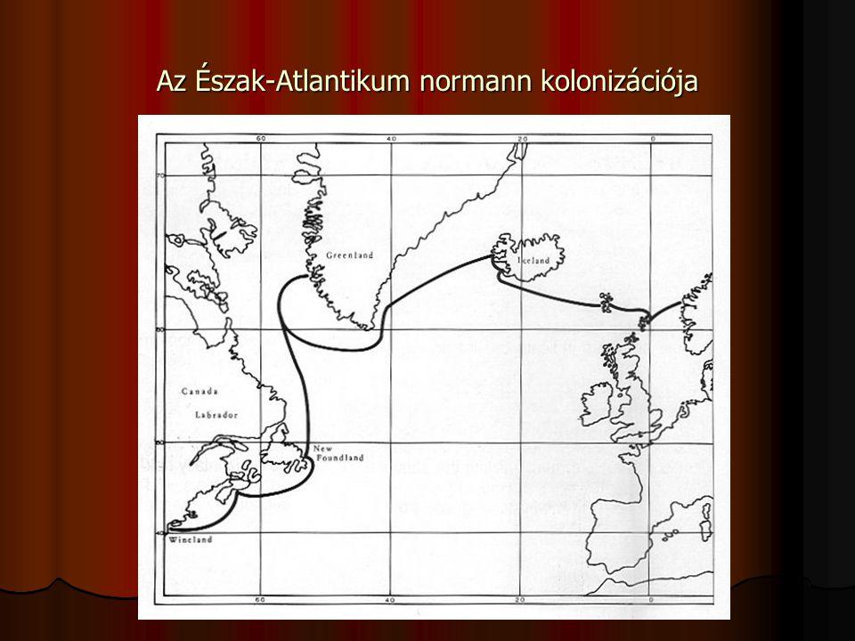 Az Észak-Atlantikum normann kolonizációja