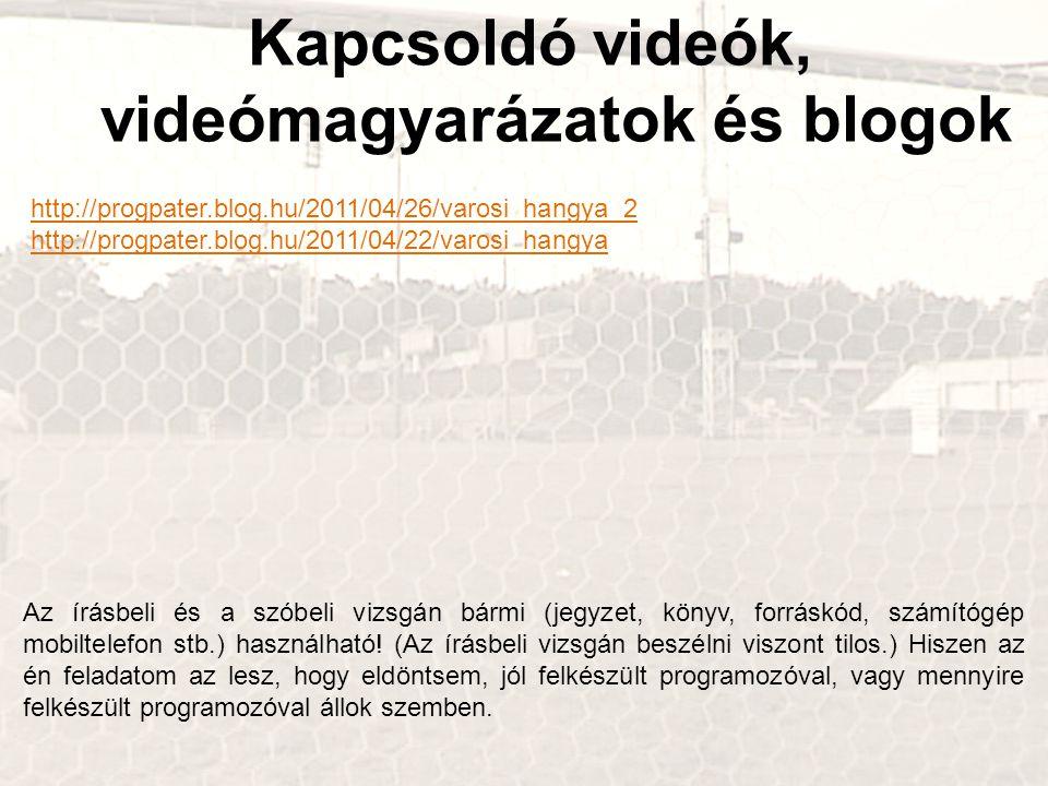 Kapcsoldó videók, videómagyarázatok és blogok http://progpater.blog.hu/2011/04/26/varosi_hangya_2 http://progpater.blog.hu/2011/04/22/varosi_hangya Az