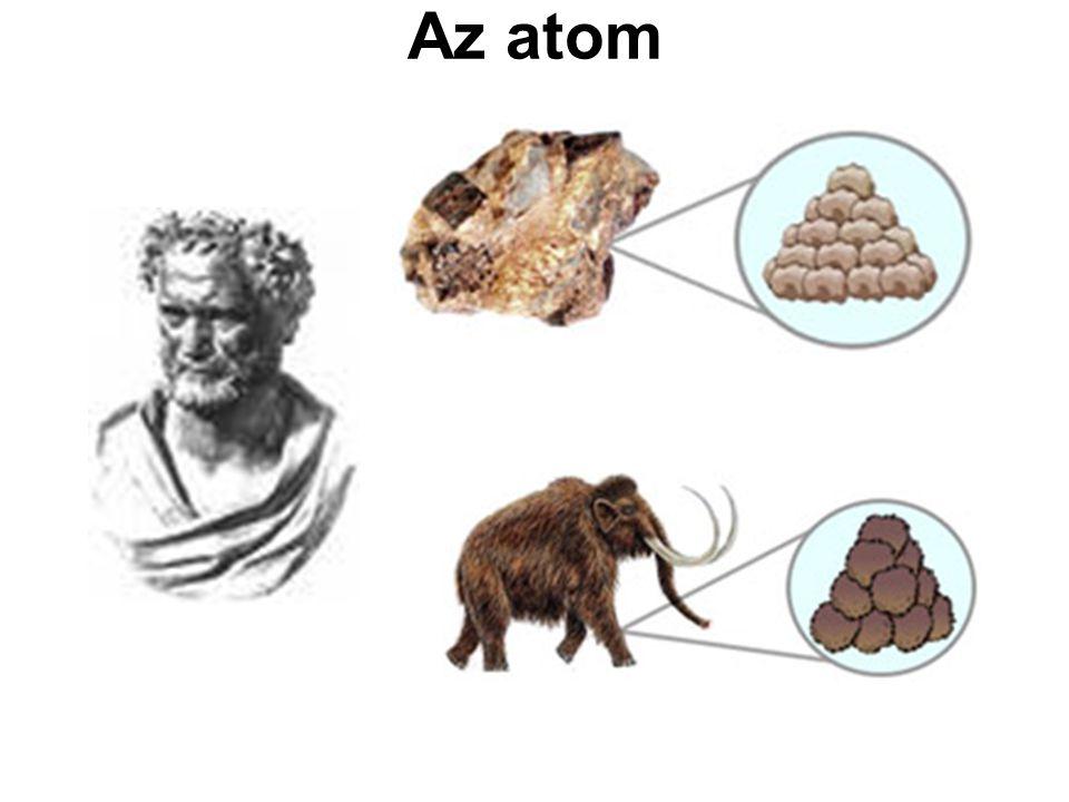 Oktett szabály Az atomok arra törekszenek, hogy a vegyértékhéjukon nyolc elektron legyen.
