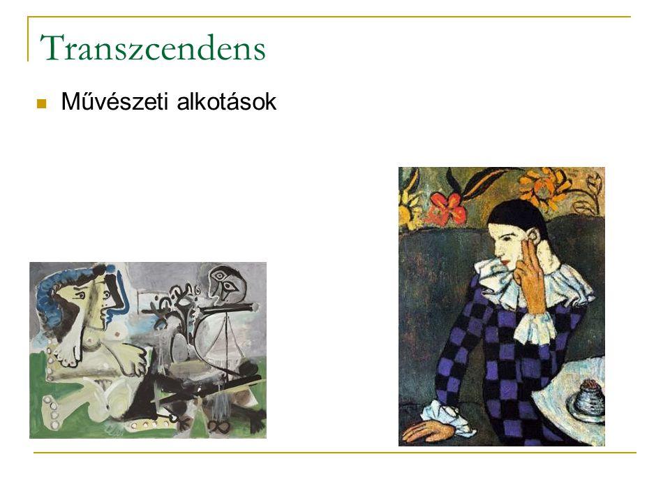 Transzcendens Művészeti alkotások