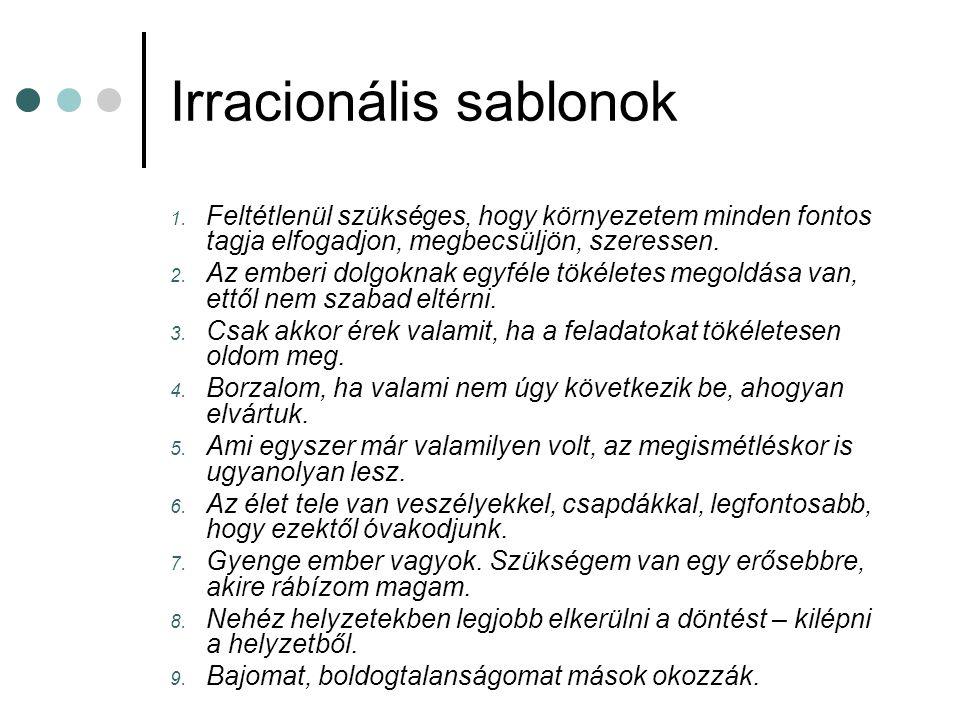 Irracionális sablonok 1.