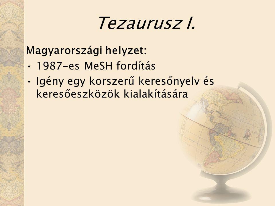 Tezaurusz I.