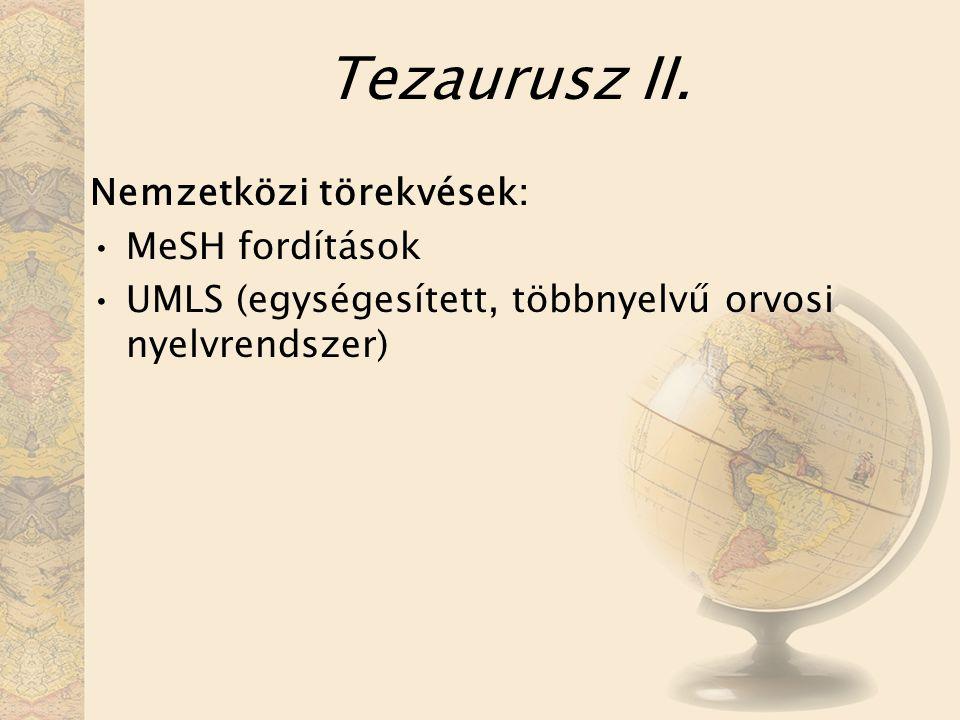 Tezaurusz II.