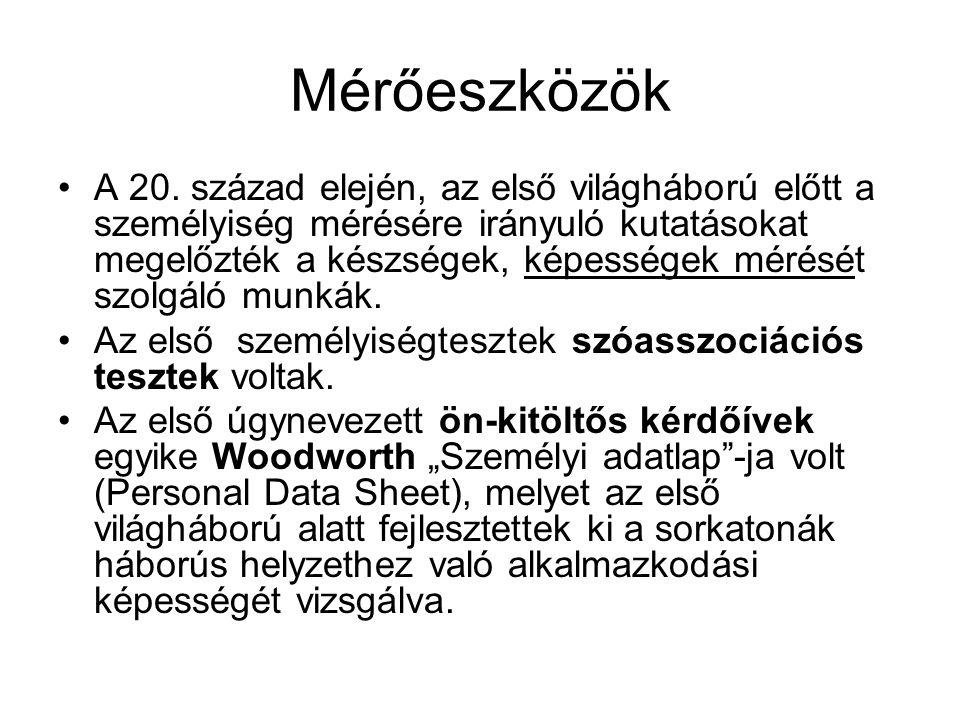 Mérőeszközök A 20.