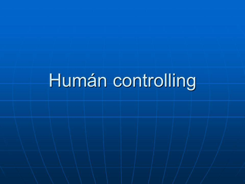 Humán controlling