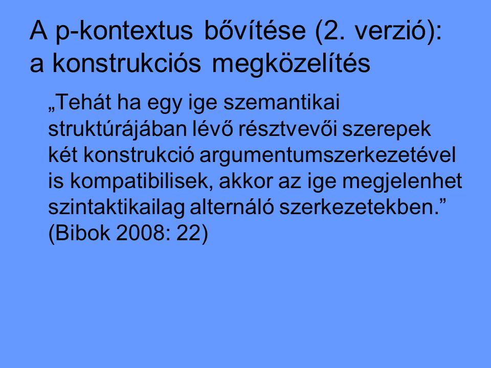 A p-kontextus bővítése (2.