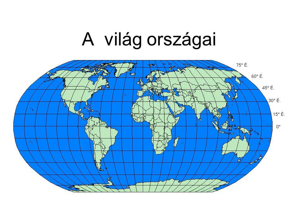 A világ országai