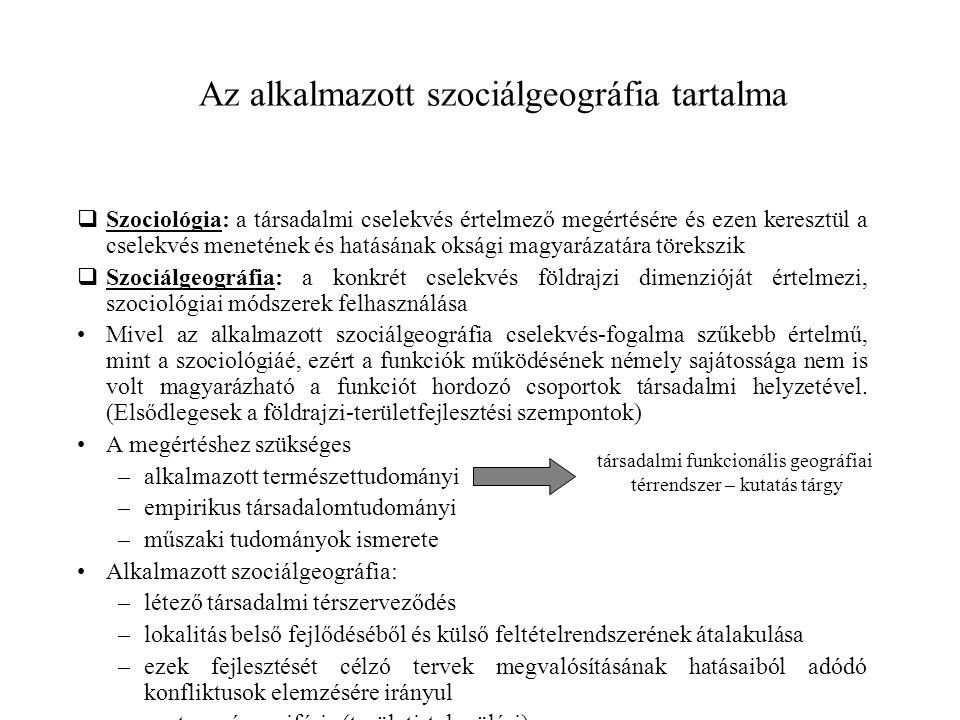  Szociológia: a társadalmi cselekvés értelmező megértésére és ezen keresztül a cselekvés menetének és hatásának oksági magyarázatára törekszik  Szoc