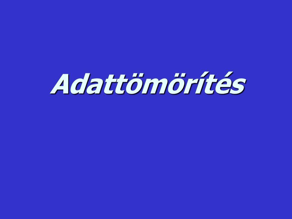 """Egy lehetséges szótár az adaptív algoritmus segítségével: (Az """" _ a szóköz karaktert jelöli.) 1."""