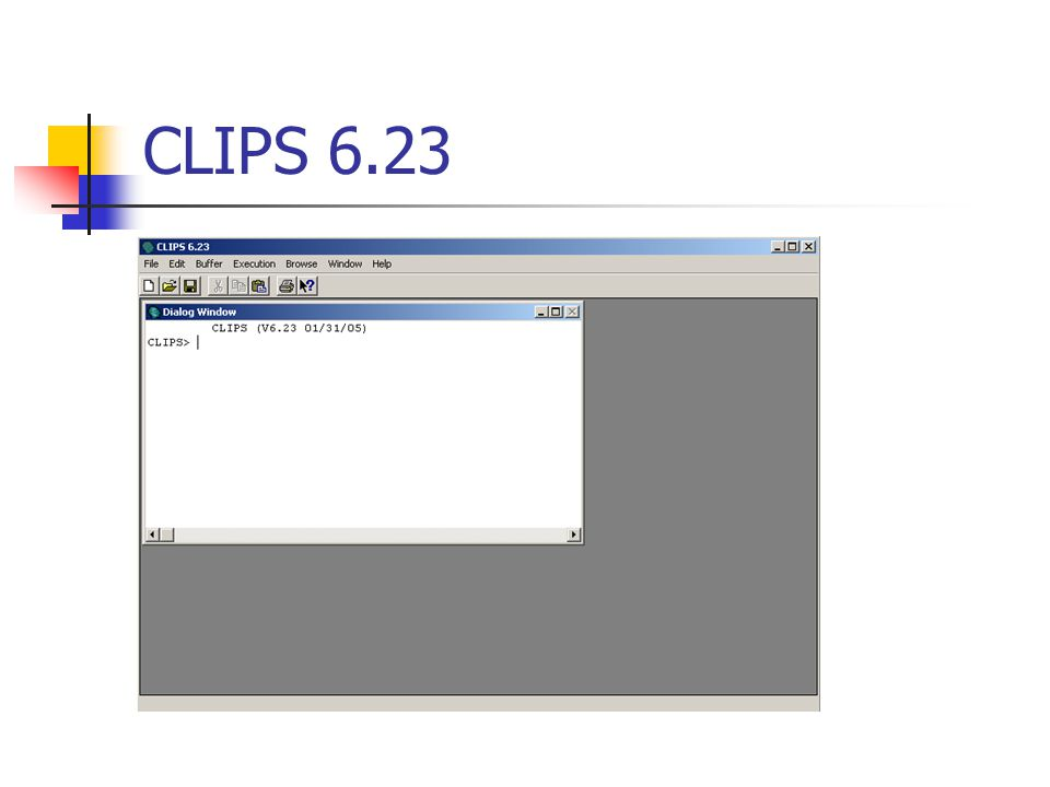 CLIPS 6.23