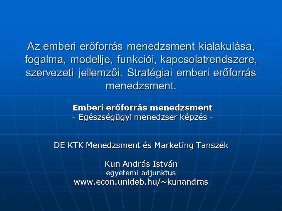A vállalati EEM fejlődése XIX.sz.