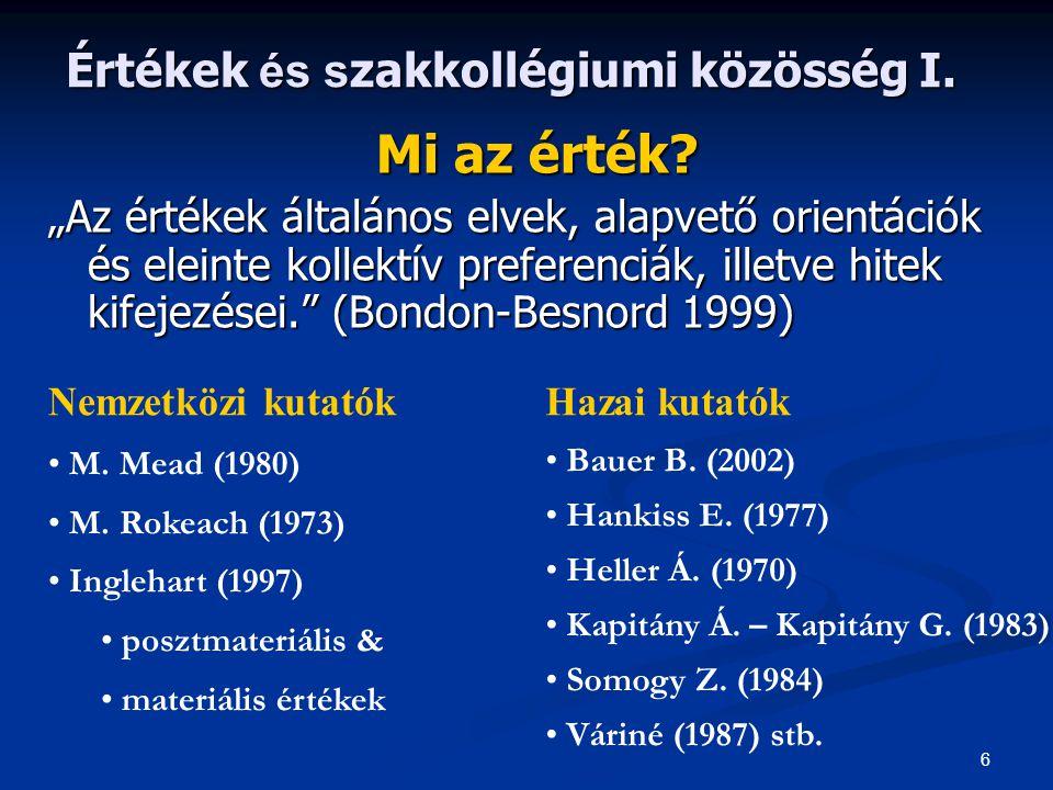 Szakirodalom 1) 1) Andorka R.(1997): Bevezetés a szociológiába.