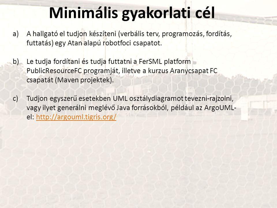 RCSS protokollok A kliens ágensek érzékelési protokollja http://netcologne.dl.sourceforge.net/project/sserver/rcssmanual/9-20030211/manual-20030211.pdf http://sourceforge.net/projects/sserver/files/rcssmanual/
