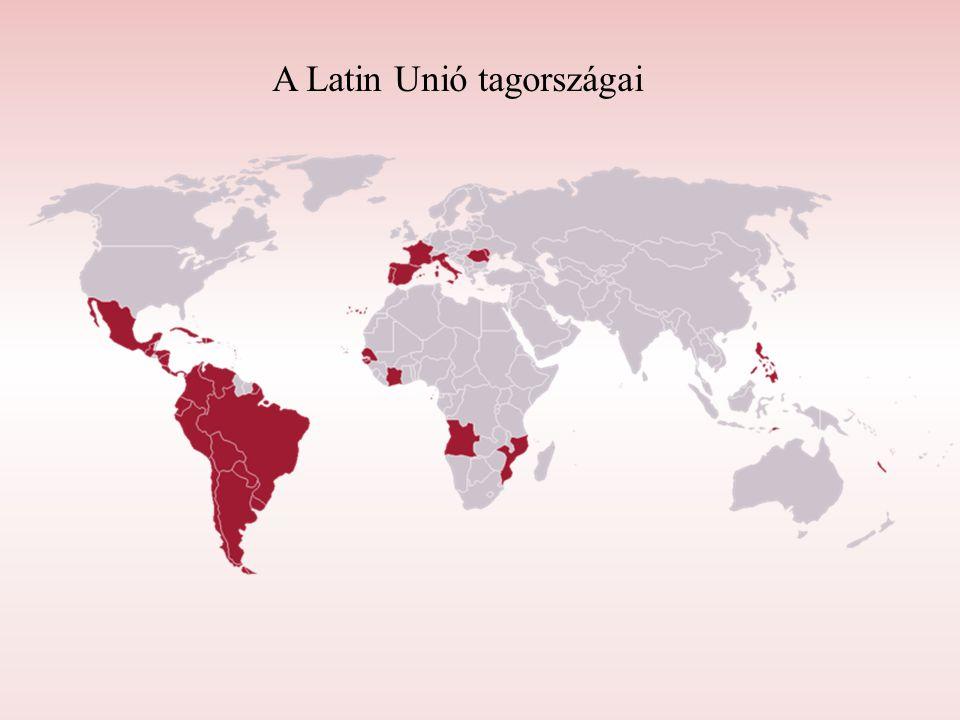 A Latin Unió tagországai