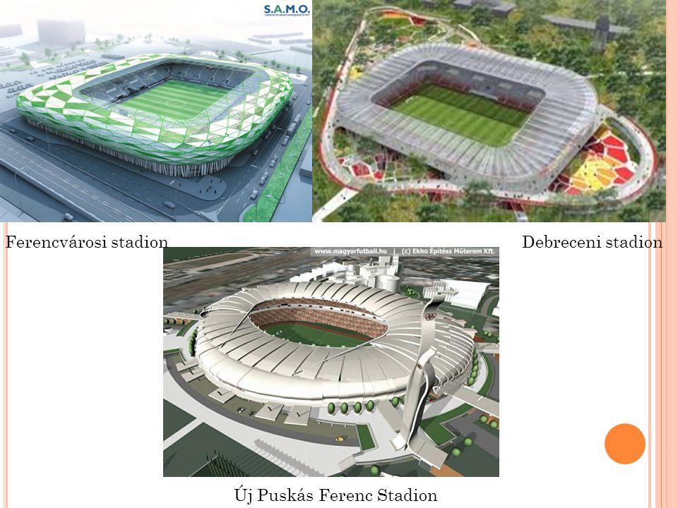 Ferencvárosi stadionDebreceni stadion Új Puskás Ferenc Stadion