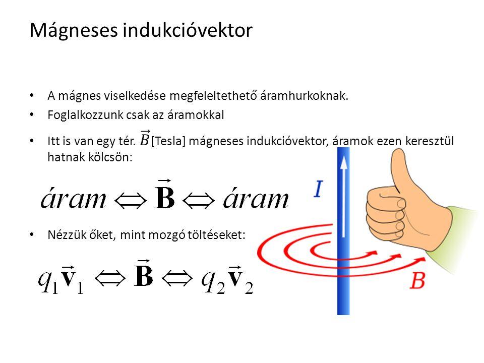 Áramvezetők mágneses tere Az ábrákon a mágneses tér erővonalait ábrázolják.